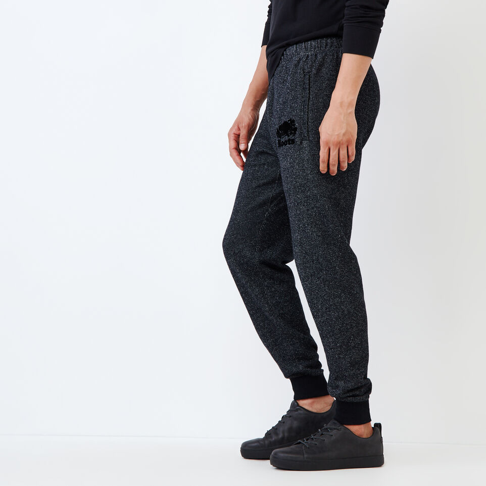 Roots-Men Slim Sweatpants-Park Slim Sweatpant-Black Pepper-C