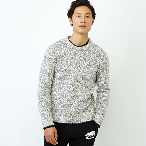 Roots-Men Our Favourite New Arrivals-Snowy Fox Crew Sweater-Snowy Fox-A