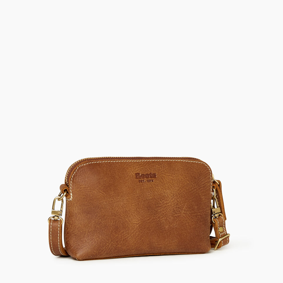 Roots-Leather New Arrivals-Christie Crossbody Tribe-Natural-A
