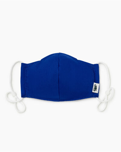 Roots-New For This Month Kids Masks-Kids Lightweight Reusable Face Mask-Royal Blue-A
