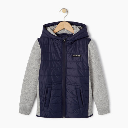 Roots-Kids Our Favourite New Arrivals-Boys Roots Hybrid Hoody Jacket-Navy Blazer-A