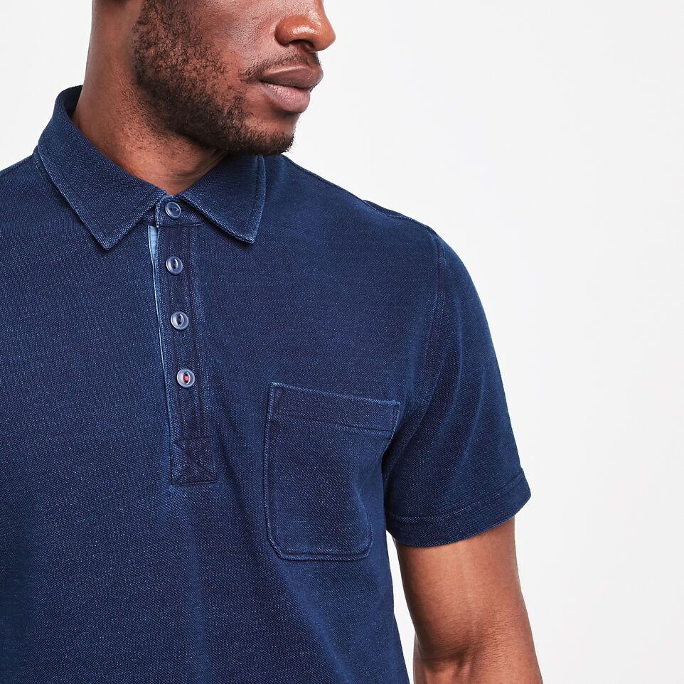 Roots-undefined-Ellesmere Indigo Pique Polo-undefined-B