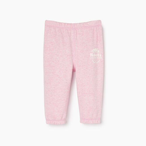 Roots-Kids Baby Girl-Baby Laurel Sweatpant-Fragrant Lilac Mix-A