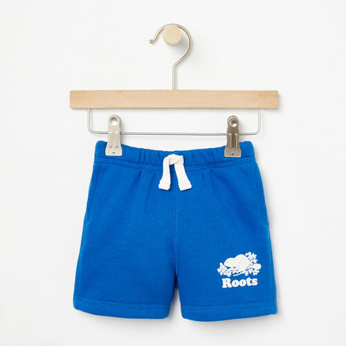 Roots-Kids Bottoms-Baby Original Athletic Short-Olympus Blue-A