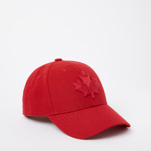 Roots-Men Accessories-Mens Modern Leaf Baseball Cap-Racing Red-A