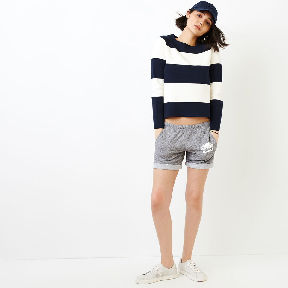 Roots-Women Categories-Hillsborough Sweater-Navy Blazer-B