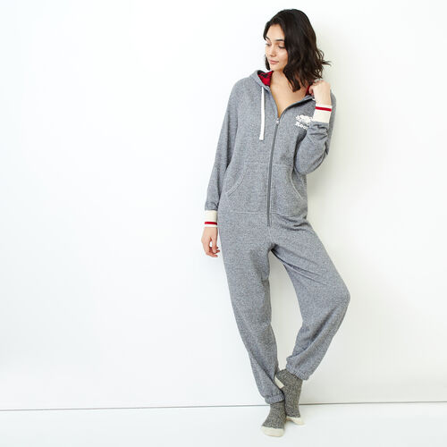 Roots-Women Our Favourite New Arrivals-Roots Cabin Onesie-Salt & Pepper-A