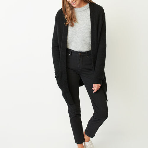 Roots-Sale Women-Joliette Coatigan-Black-A