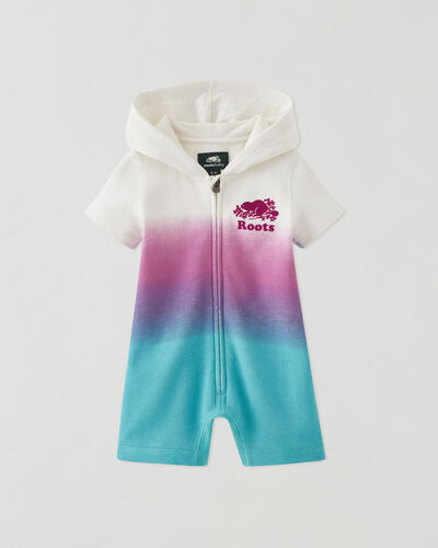 Roots-Kids Baby-Baby Cooper Beaver Romper-Multi-A