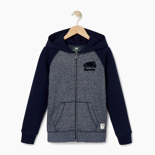 Roots-Kids Our Favourite New Arrivals-Boys Original Full Zip Hoody-Navy Blazer Pepper-A
