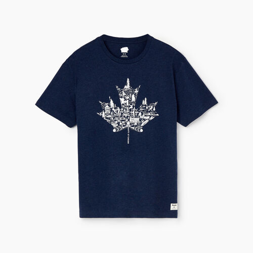 Roots-Men Our Favourite New Arrivals-Mens Oh Canada T-shirt-Navy Blazer Mix-A