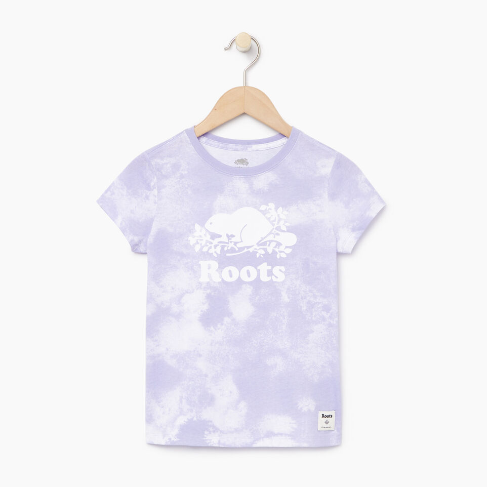 Roots-Kids Our Favourite New Arrivals-Girls Cloud Nine T-shirt-Thistle-A