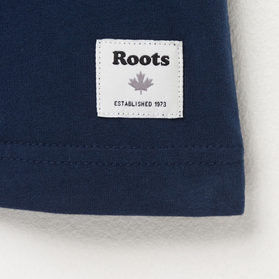 Roots-undefined-Mens Roots Script T-shirt-undefined-C