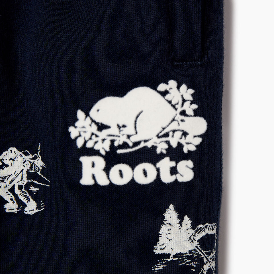 Roots-undefined-Baby Hockey Aop Sweatpant-undefined-C