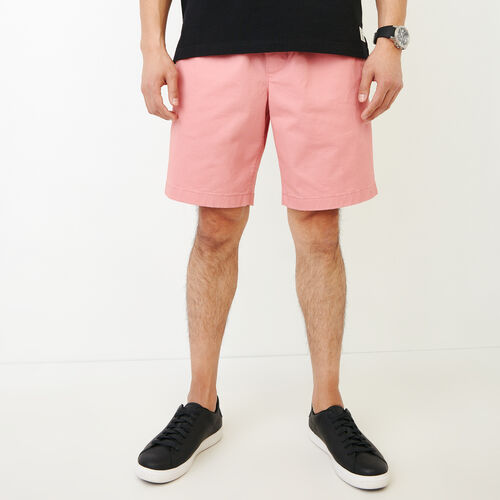 Roots-Men Shorts-Essential Short-Sunset Apricot-A