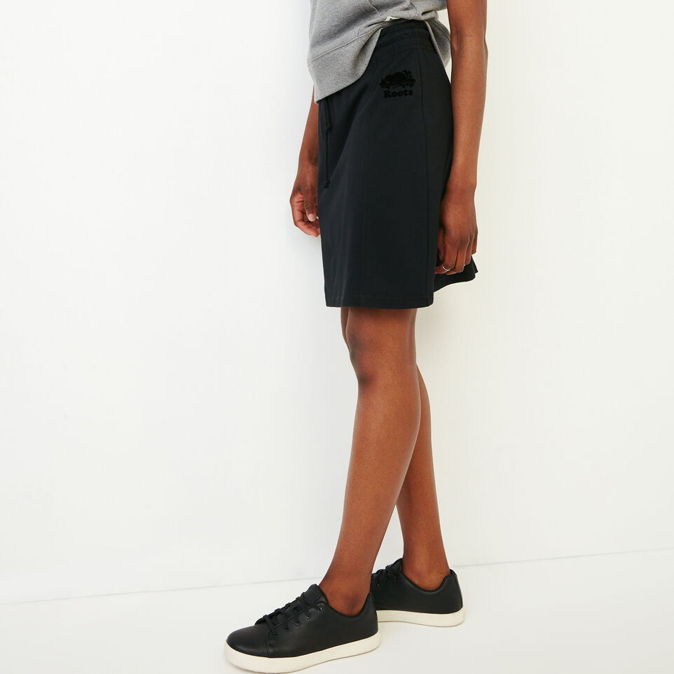Roots-Women Our Favourite New Arrivals-Summerside Skirt-Black-C