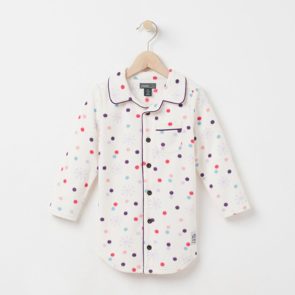 Roots-undefined-Toddler Micro Fleece Nightie-undefined-A