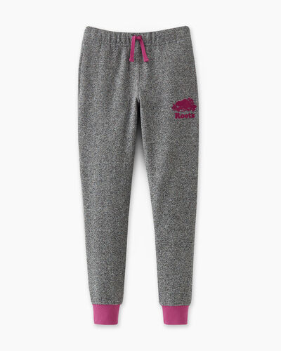 Roots-Sweats Girls-Girls Cooper Pop Slim Sweatpant-Purple Orchid-A