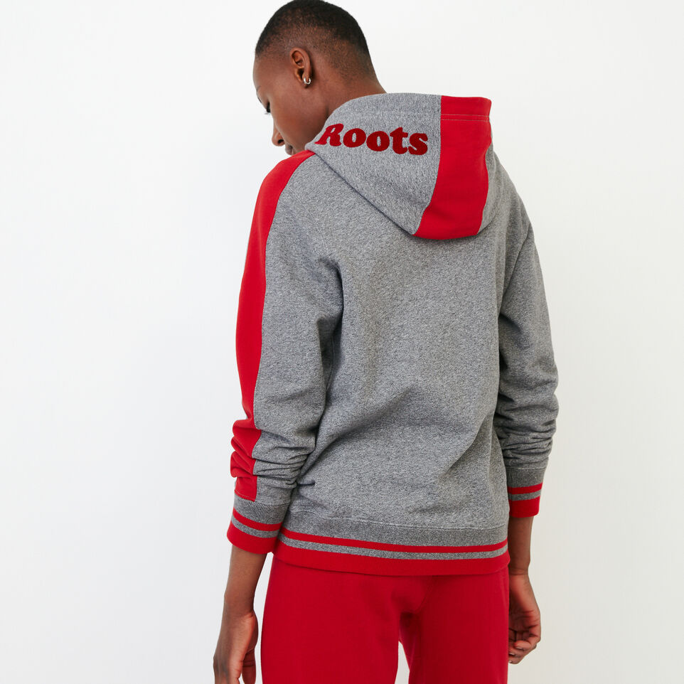 Roots-Women Canada Collection By Roots™-Canada Kanga Hoody-Grey Mix Pepper-E
