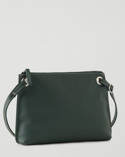 Roots-Women Crossbody-Edie Bag Cervino-Forest Green-A