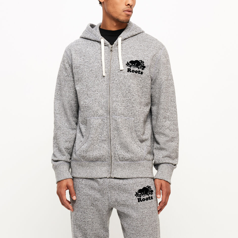 Roots-undefined-Roots Salt and Pepper Original Full Zip Hoody-undefined-A