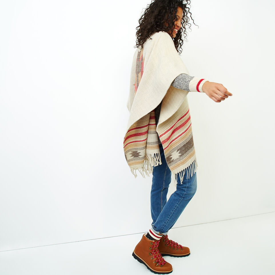Roots-Women Accessories-Erindale Wrap-Flaxseed Mix-C