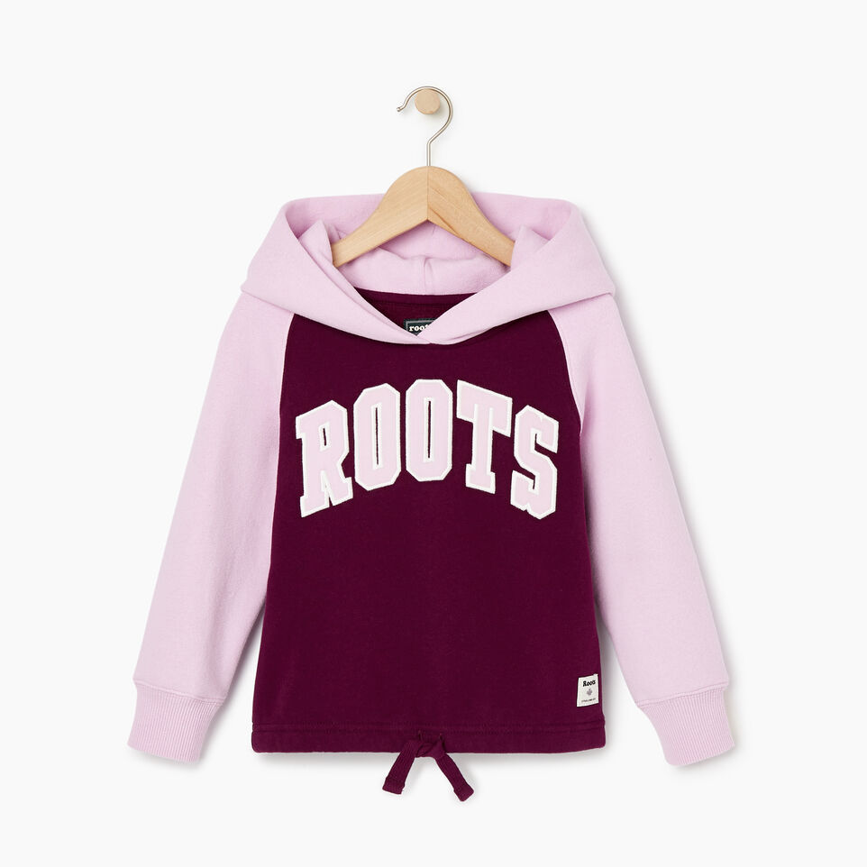 Roots-Sale Kids-Toddler 2.0 Colourblock Raglan Hoody-Pickled Beet-A