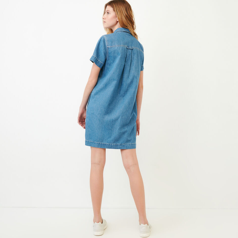 Roots-undefined-Sherbrook Chambray Dress-undefined-E