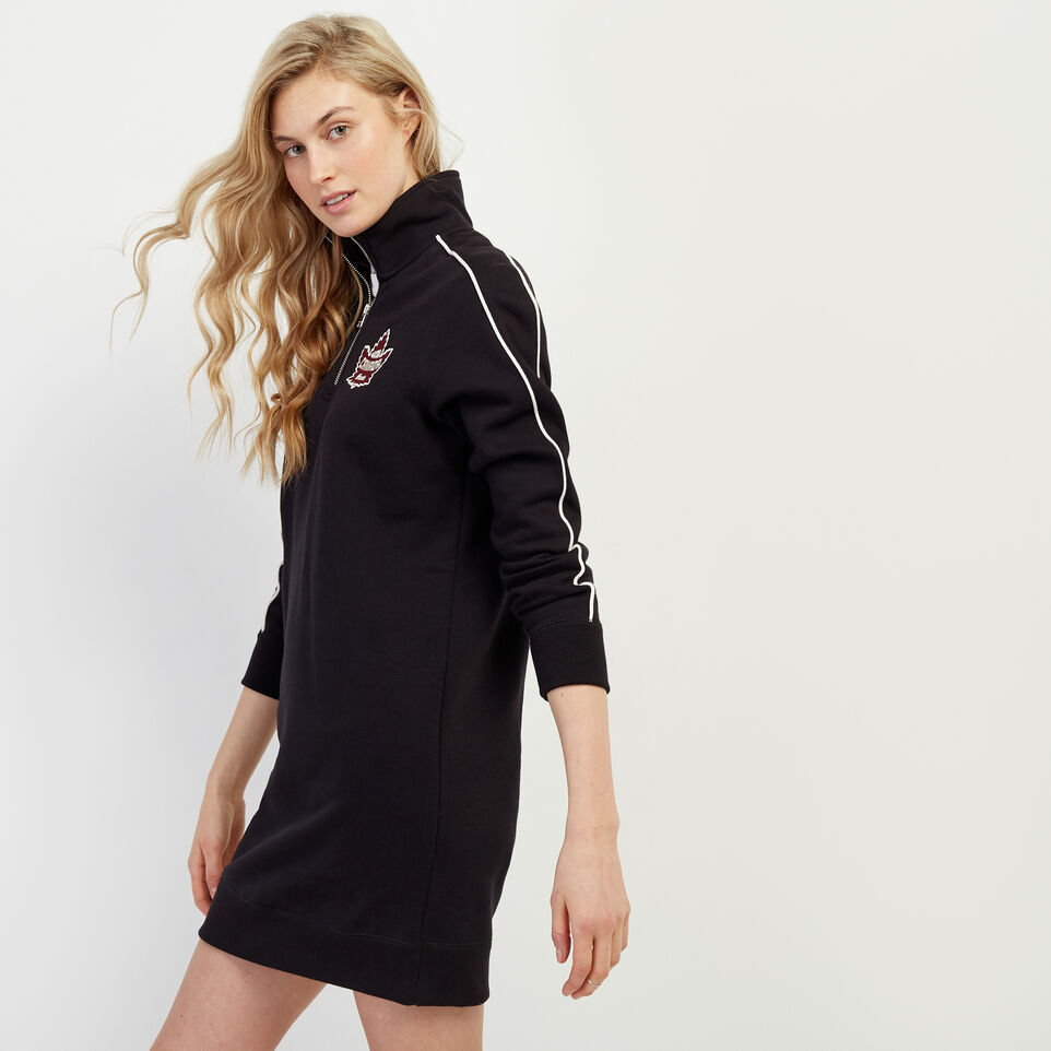 Roots-New For June Canada Collection By Roots™-Canada Stein Dress-Black-C