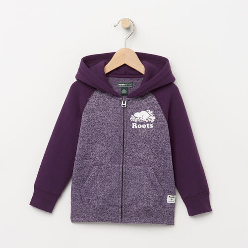 Roots-Winter Sale Toddler-Toddler Original Full Zip Hoody-Purple Pennant Peppr-A