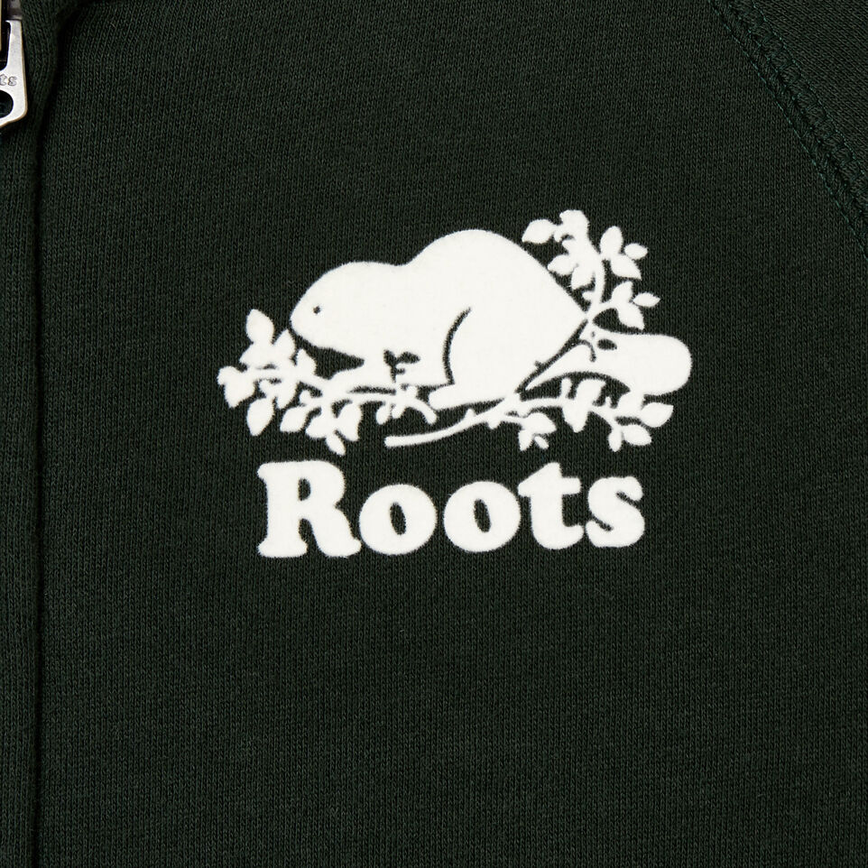 Roots-Sale Kids-Boys Original Full Zip Hoody-Park Green-C