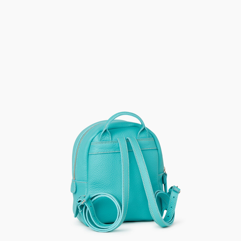 Roots-Cuir Sacs Style Urbain-City Chelsea Pack Parisian-Turquoise-C