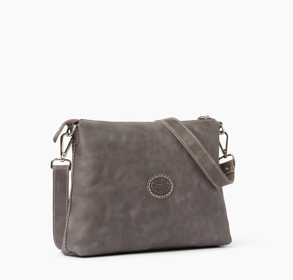 Roots-Leather New Arrivals-The Villager Tribe-Charcoal-C