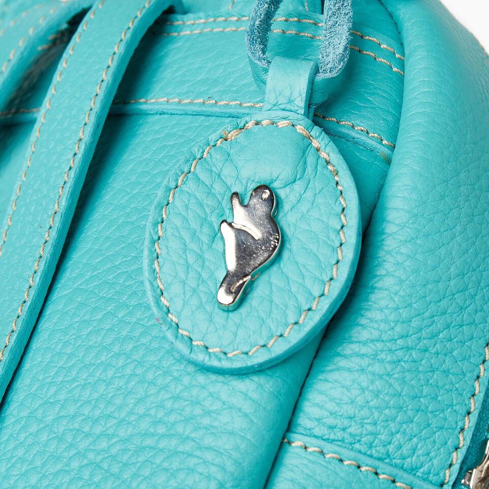 Roots-Cuir Sacs Style Urbain-City Chelsea Pack Parisian-Turquoise-E