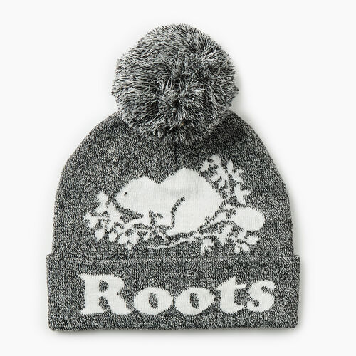 Roots-Gifts Gifts For Kids-Kids Cooper Glow Toque-Salt & Pepper-A