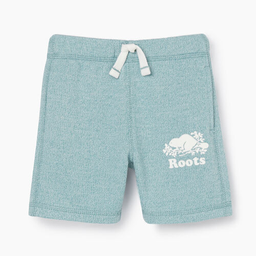 Roots-Kids New Arrivals-Girls Original Roots Short-Mineral Blue Pepper-A