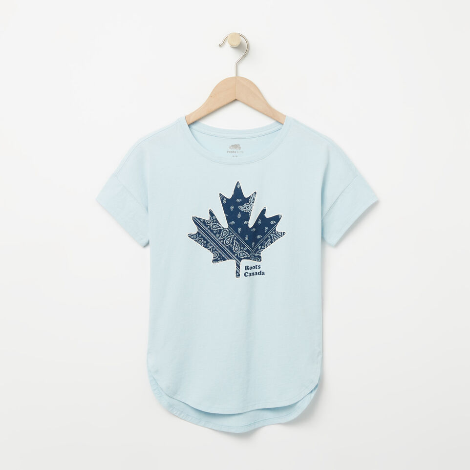 Roots-Girls Bandana Maple Top