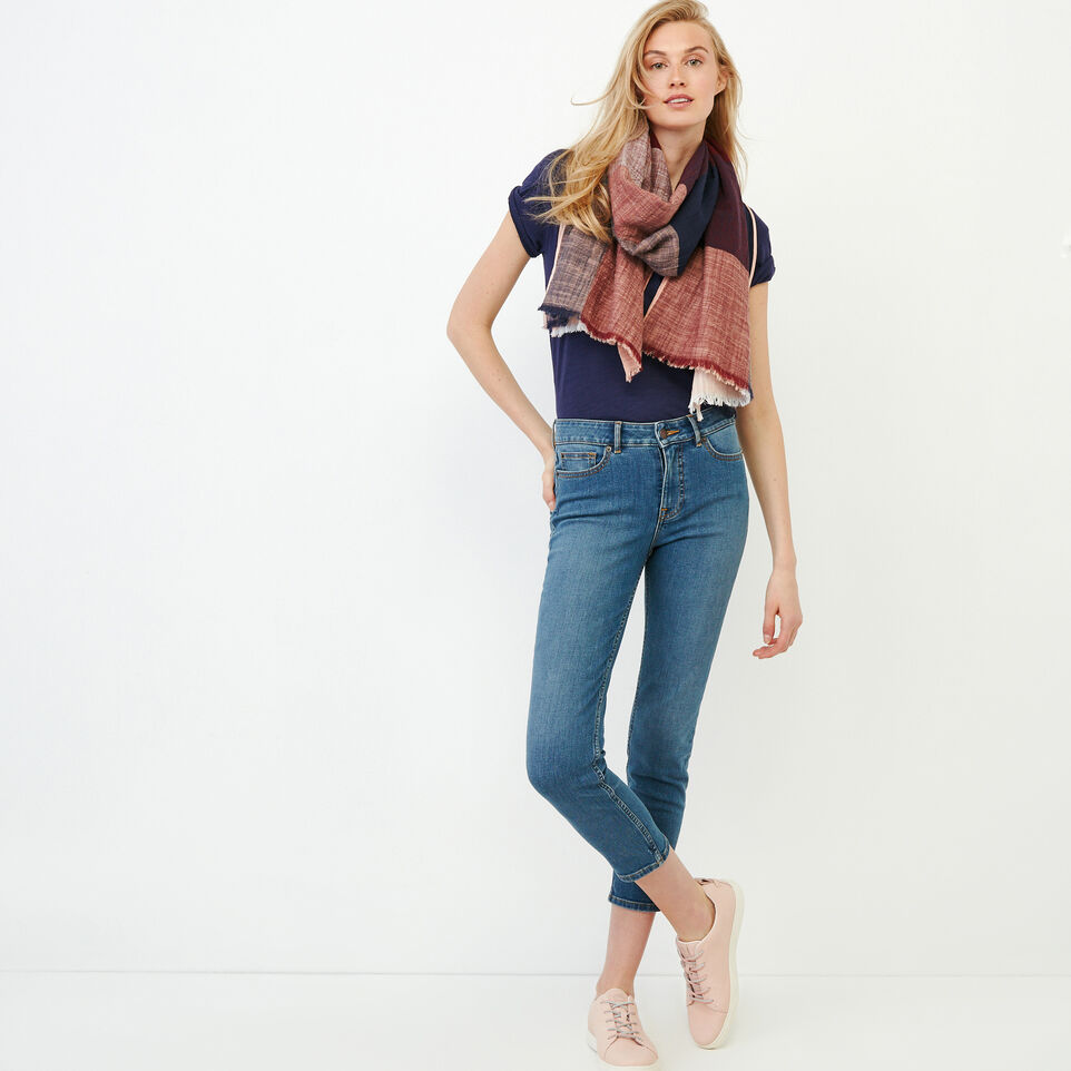 Roots-Women Our Favourite New Arrivals-Valetta Scoop Neck Top-Eclipse-B