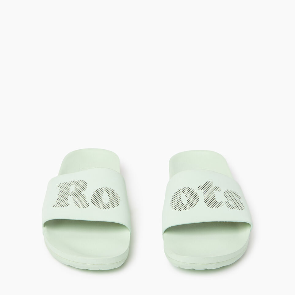 Roots-Women Categories-Womens Long Beach Pool Slide-Spray-D