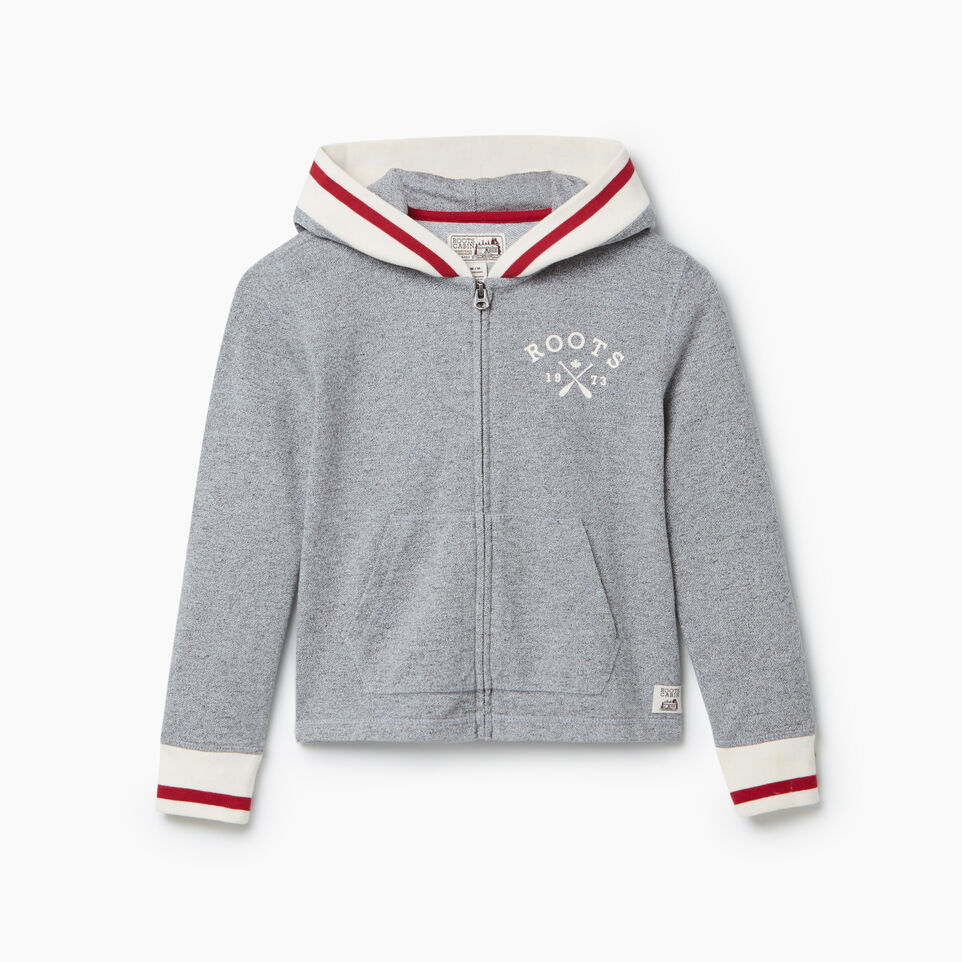 Roots-undefined-Girls Cabin Full Zip Hoody-undefined-A