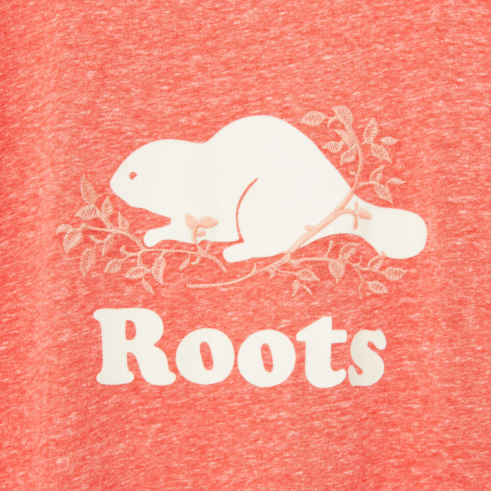 Roots-undefined-Womens Embroidered Boyfriend T-shirt-undefined-D