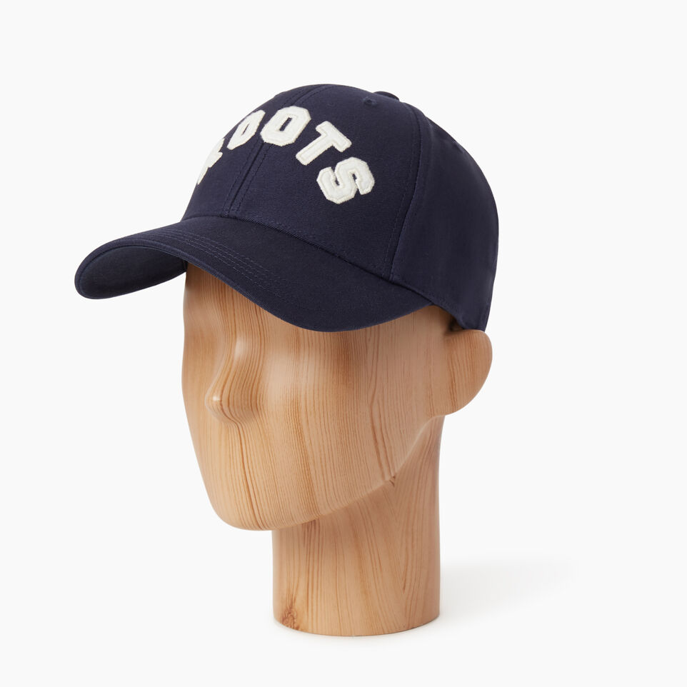 Roots-undefined-Donwood Fitted Baseball Cap-undefined-B