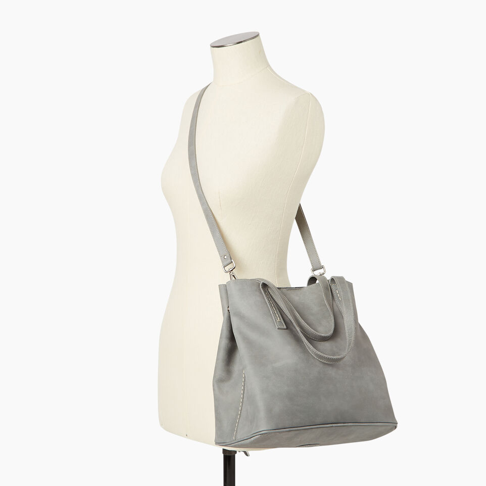 Roots-Leather  Handcrafted By Us Our Favourite New Arrivals-Amelia Tote-undefined-B