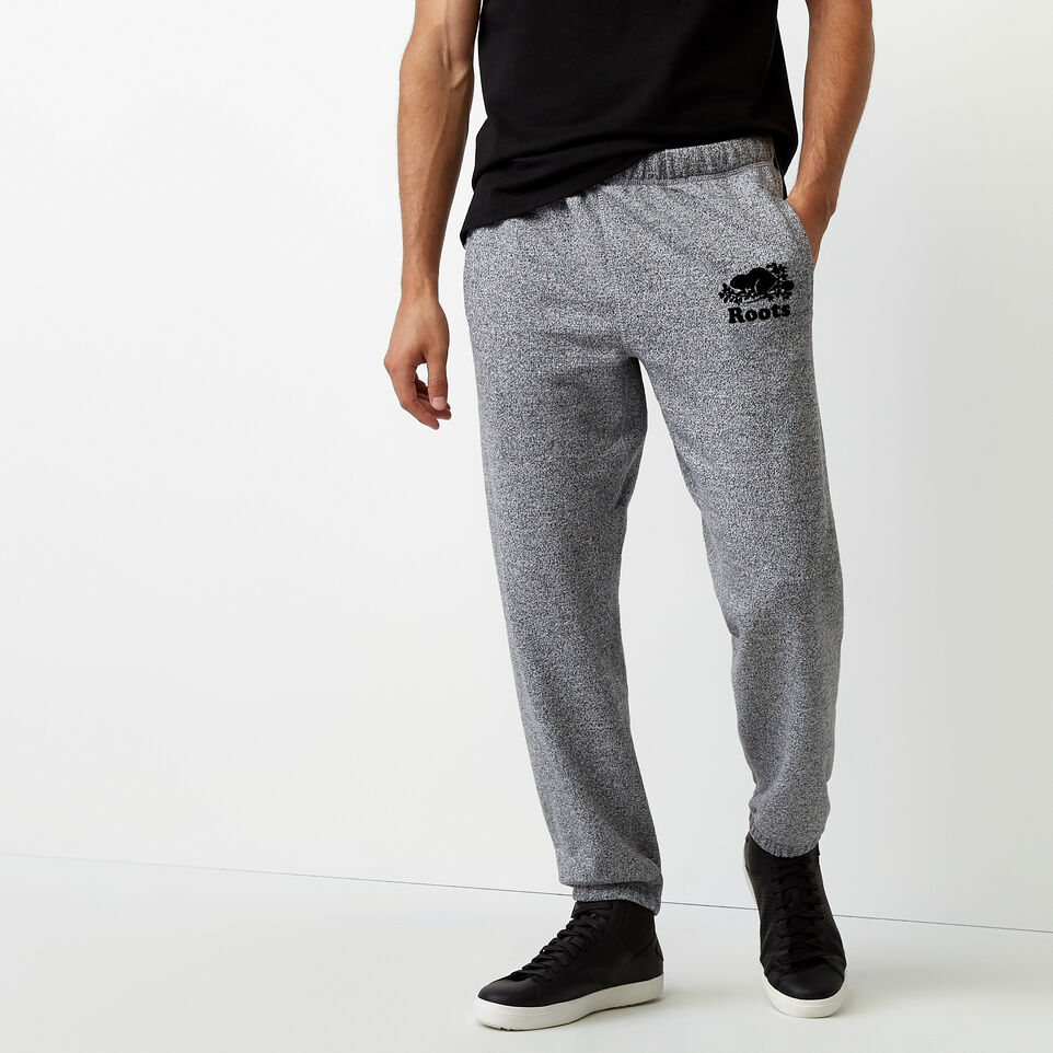 Roots-undefined-Roots Salt and Pepper Original Sweatpant - Short-undefined-A