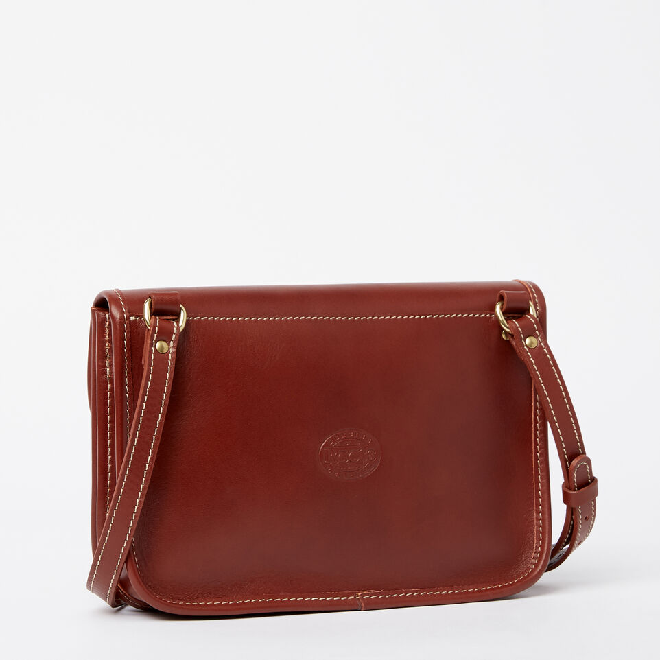 Roots-Leather  Handcrafted By Us Handbags-Sandys Bag Heritage-Oak-C