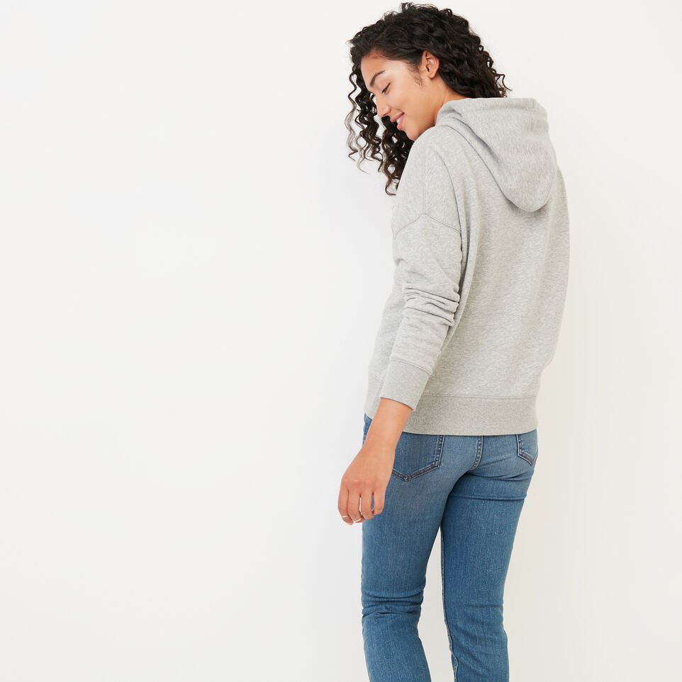 Roots-Women Our Favourite New Arrivals-Junction Hoody-Grey Mix-D