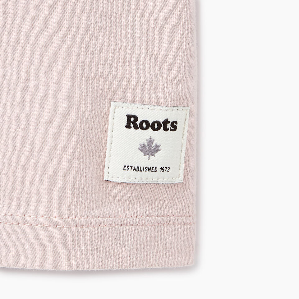 Roots-New For March Daily Offer-Womens Communication T-shirt-Burnished Lilac-C