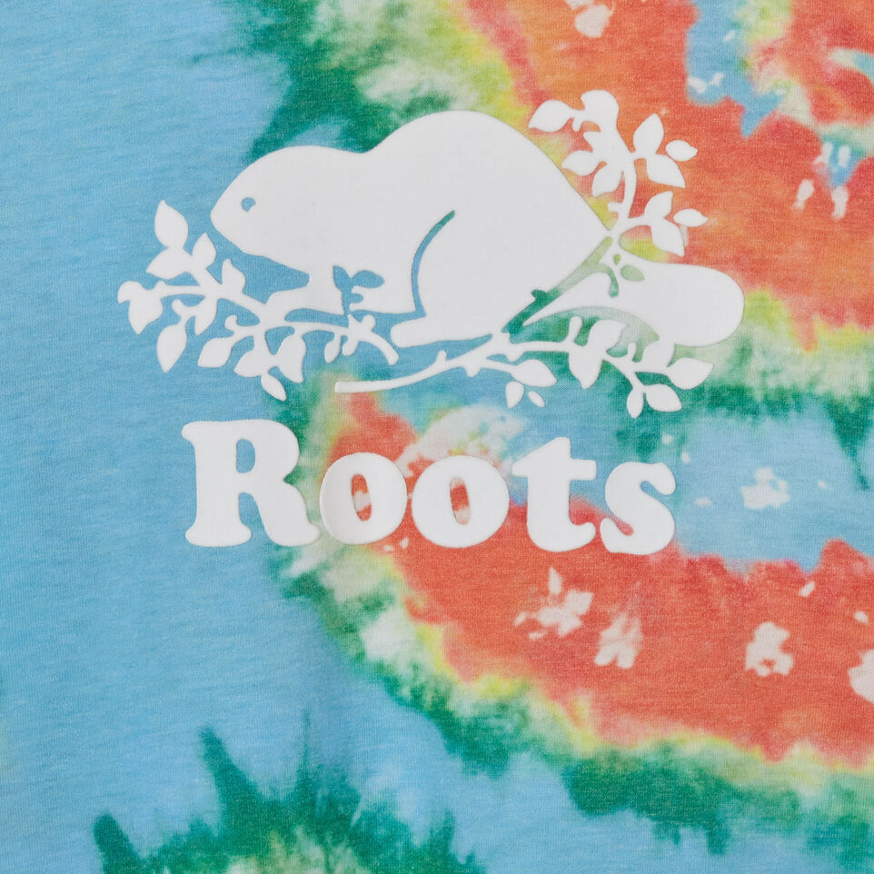 Roots-Kids Tops-Toddler Cooper Beaver T-shirt-Multi-C