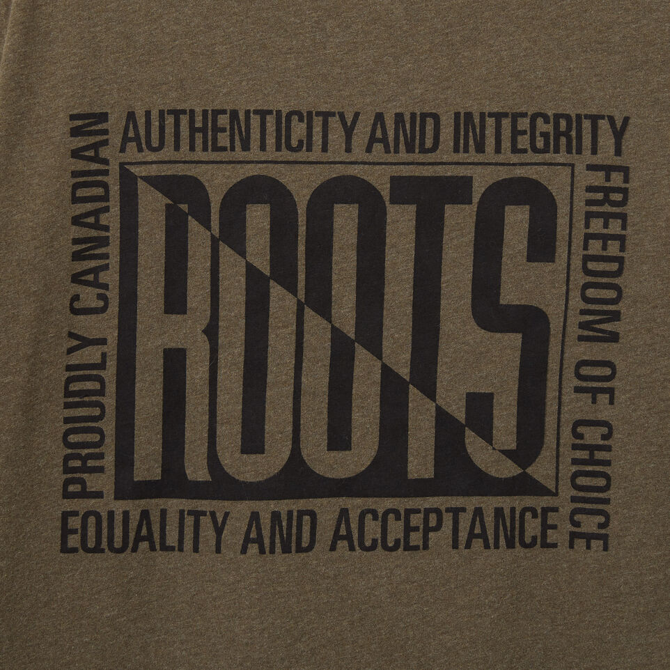 Roots-undefined-Mens Roots Eighties T-shirt-undefined-D