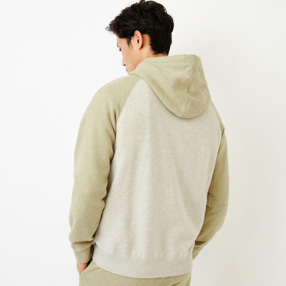 Roots-Men Our Favourite New Arrivals-Cooper Kanga Hoody-Spray Green Mix-D